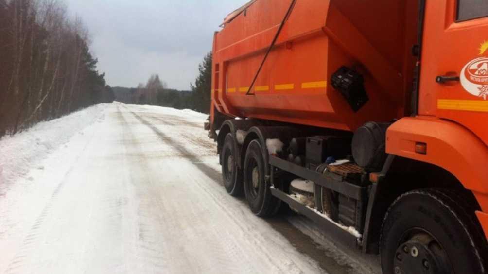 В Брянской области на борьбу со снегом вывели более 200 машин