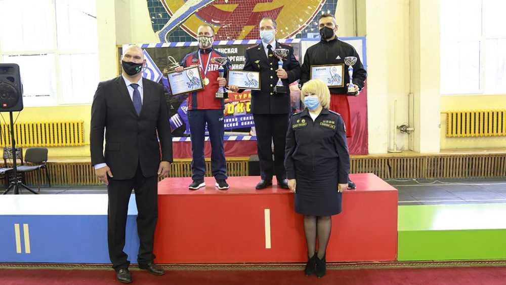 Команда УФСИН России по Брянской области стала призером турнира БРО ОГО ВФСО «Динамо» по боксу