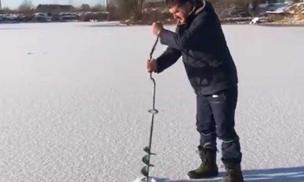 Бывший глава Брянска Хлиманков поделился радостью рыбалки