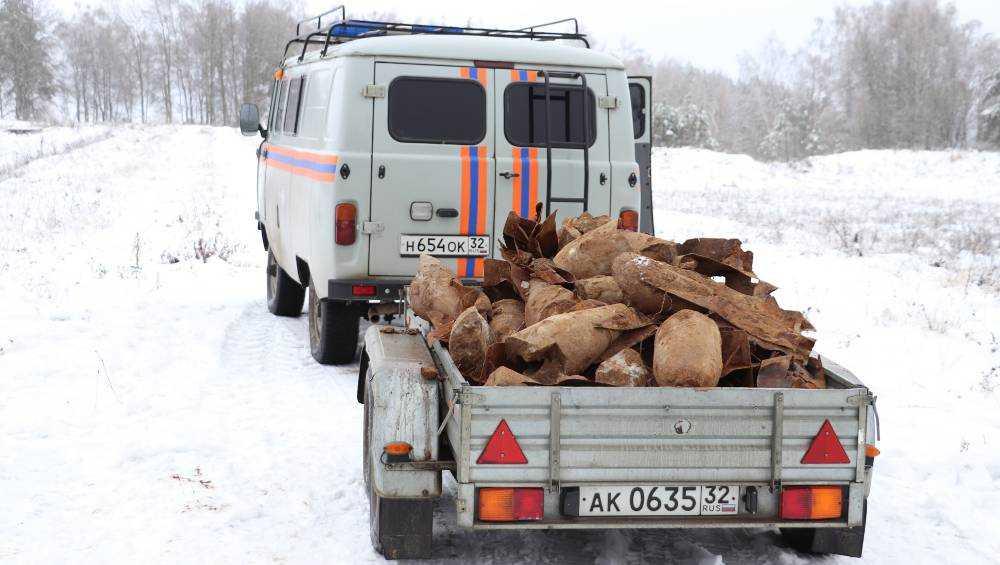 Новый Брянск посадили на бомбы и снаряды с химической начинкой