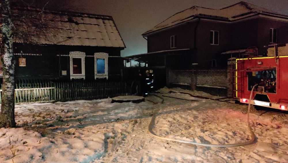 Под Брянском в загоревшемся частном доме погиб пенсионер