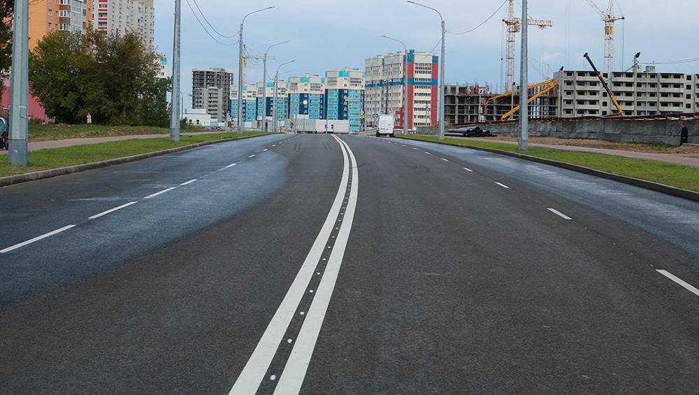 В Брянске в уходящем году отремонтировали 58 километров дорог