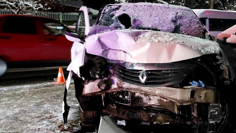 В Брянске погиб пассажир такси