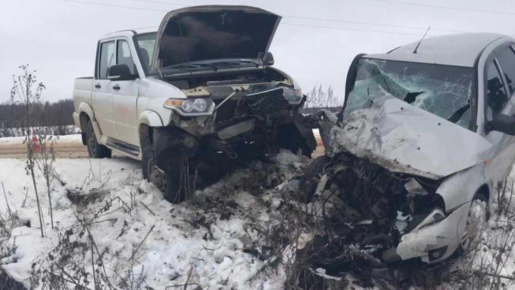 В Рогнединском районе в ДТП погибла 62-летняя женщина