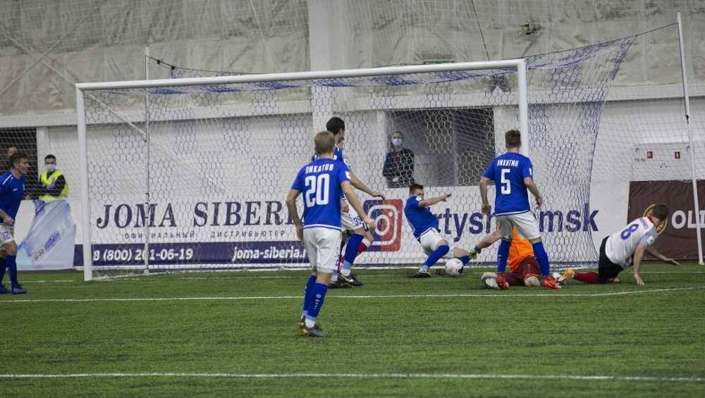 Брянское «Динамо» проиграло последний матч в этом году