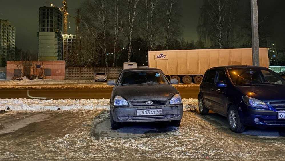 Житель Брянска выдал разбившего чужую легковушку водителя