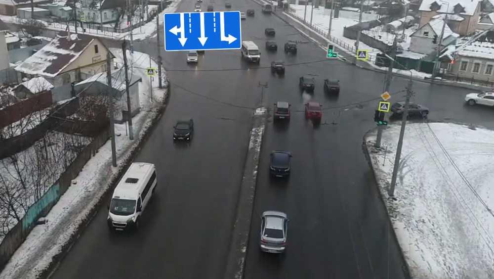 В Брянске на Городищенском перекрестке установят новые дорожные знаки