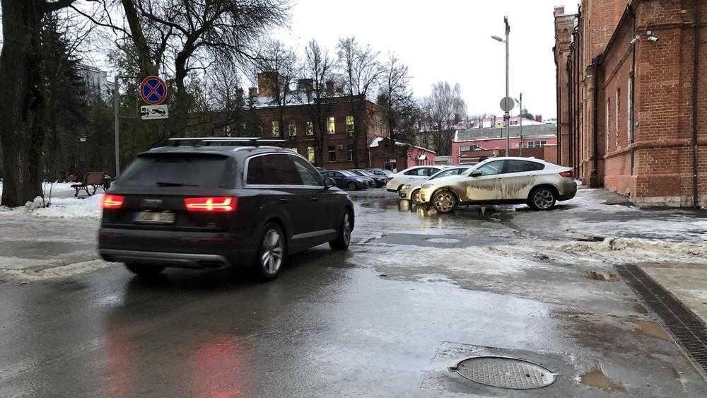 Круглый сквер Брянска стал местом сплошных нарушений