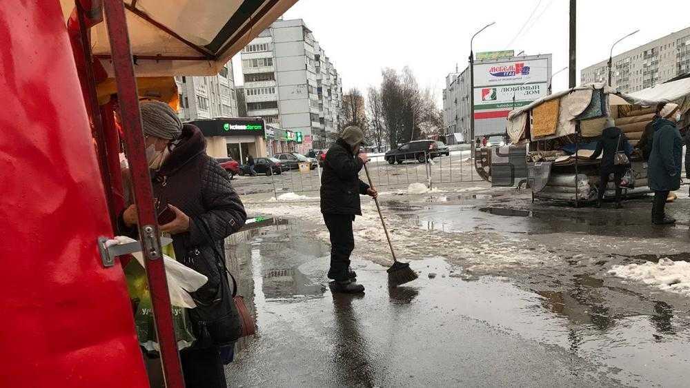 Белорусские торговцы покинули Брянск с большой обидой