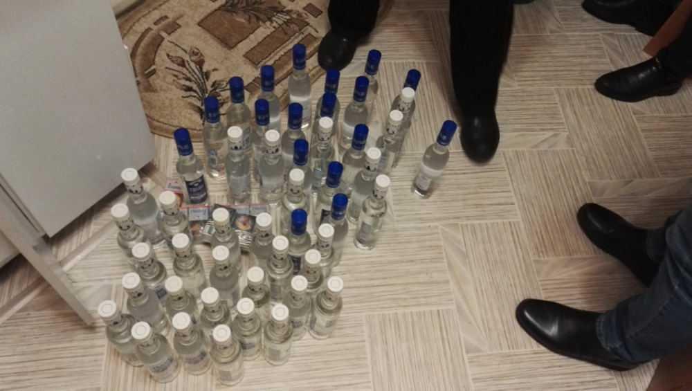 В Клинцовском районе изъяли поддельные алкоголь и сигареты