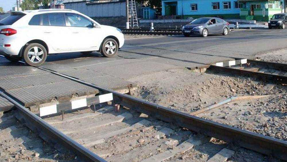 В Брянске 2 и 3 марта ограничат движение на железнодорожном переезде