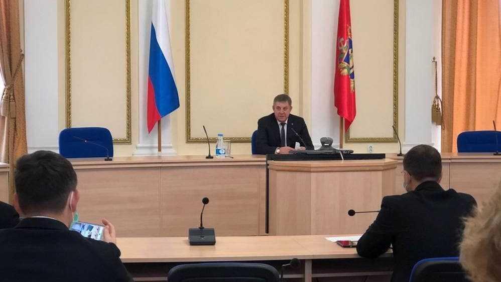 Богомаз заявил о возможном упразднение должности вице-губернатора