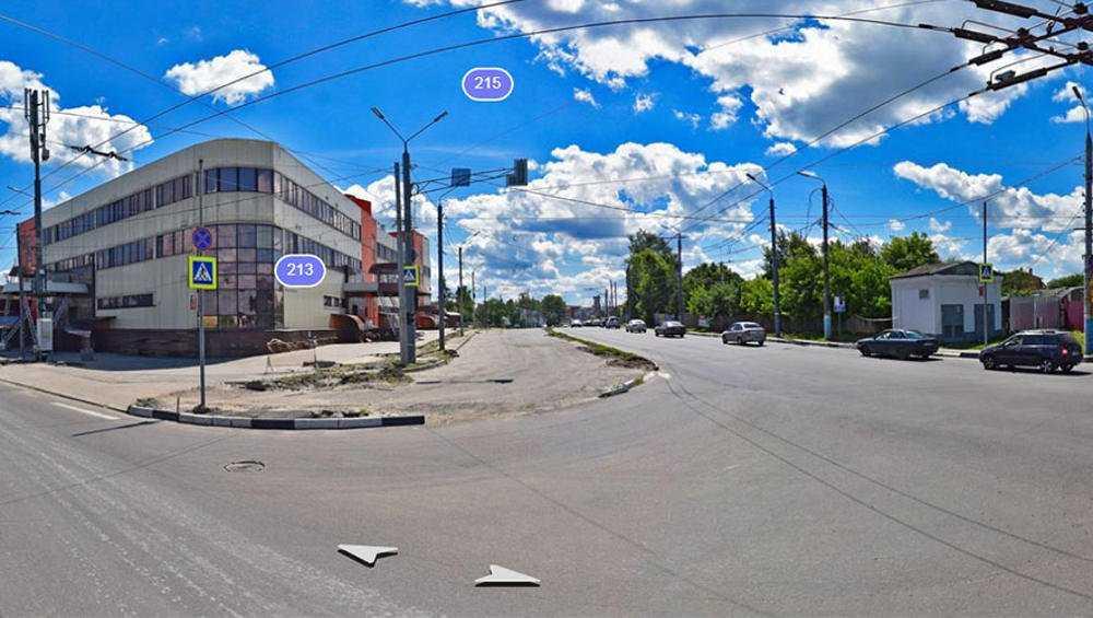 В Брянске на Городищенской горке дорогу расширили на две полосы