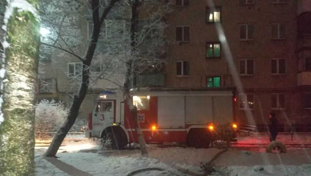 Ночью в Брянске произошел пожар в квартире на Московском проспекте