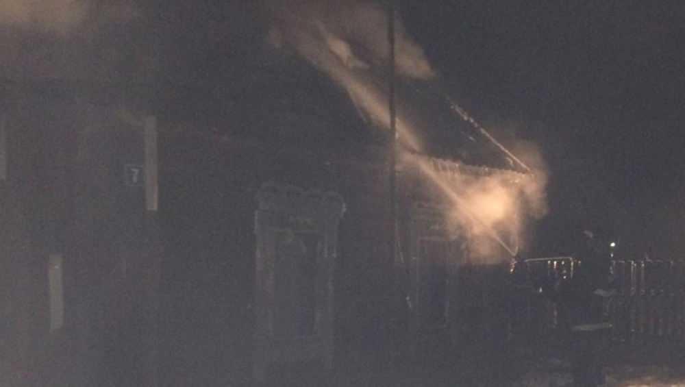 В Брасовском районе в сгоревшем доме погиб 45-летний мужчина