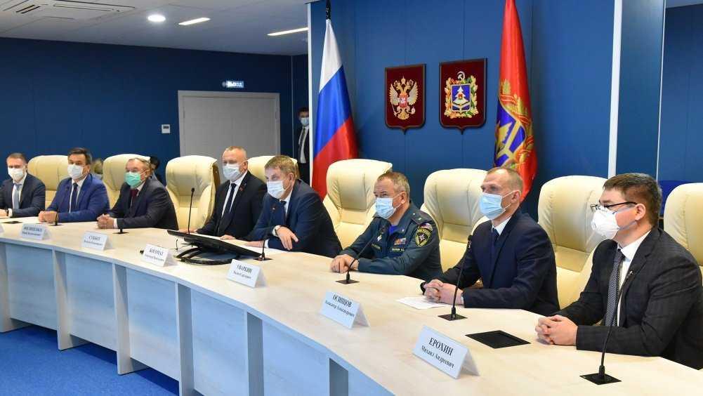 В Брянске открыли ситуационный центр губернатора и правительства