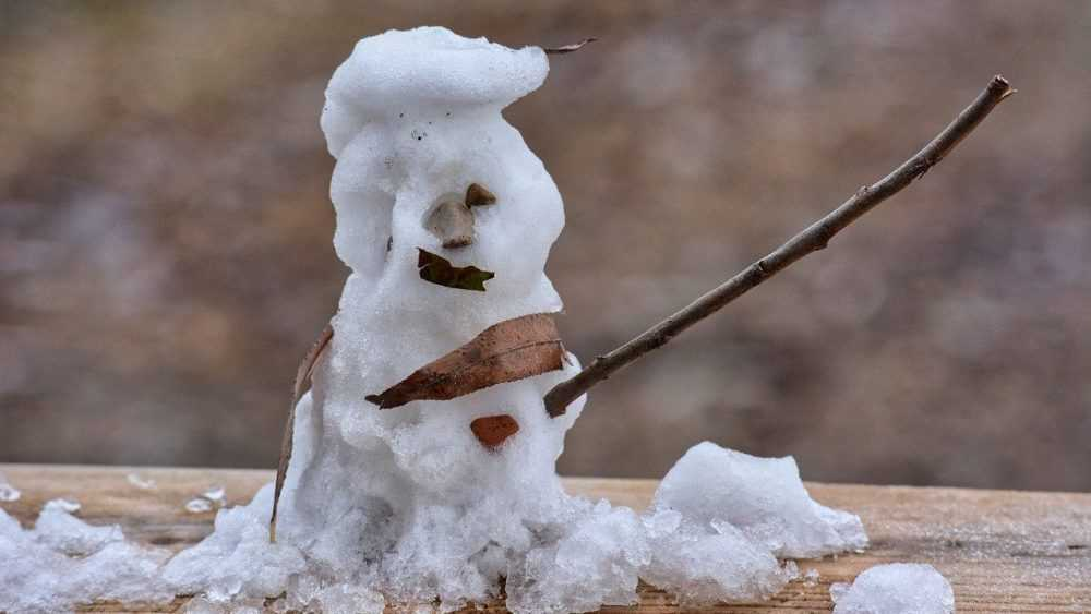 В Брянской области после 19 градусов мороза потеплеет до 1 градуса