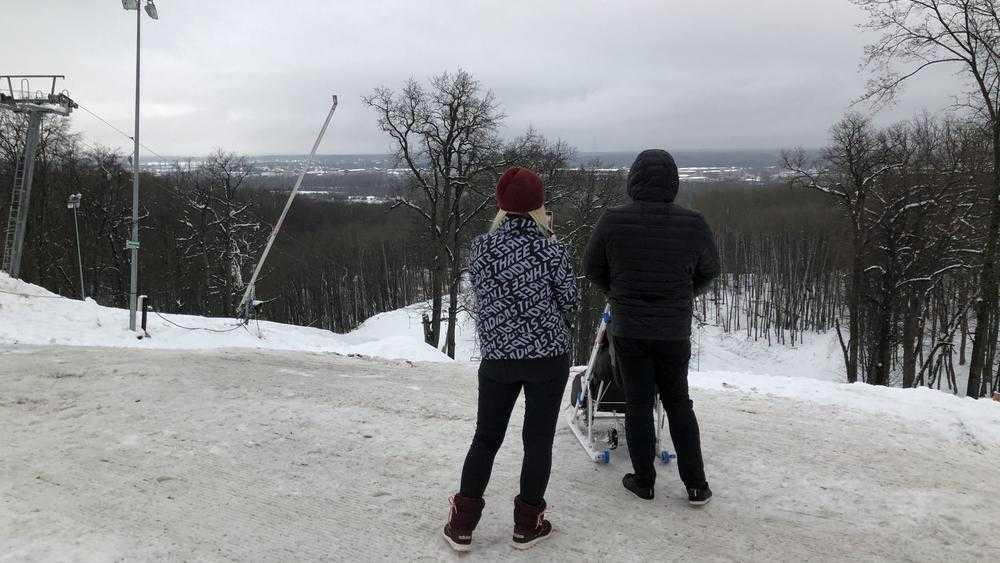 В брянском парке «Соловьи» пропали любители горных лыж