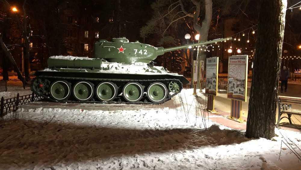 В Брянске суд запретил заводу вывозить танк Т-34 из сквера Морозова