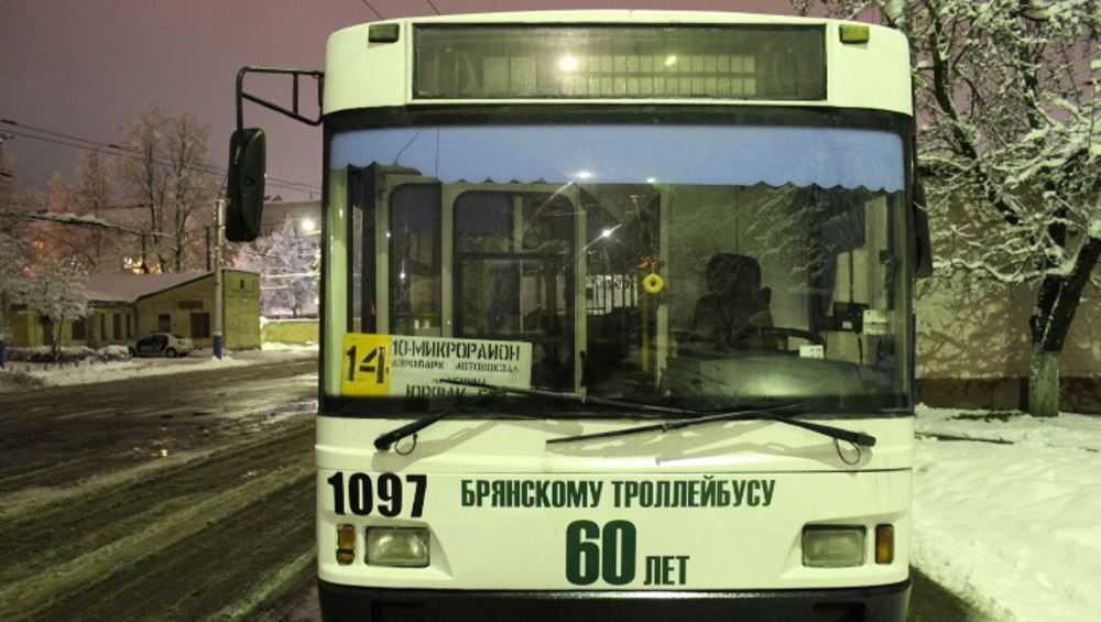 В Брянске устроят парад троллейбусов
