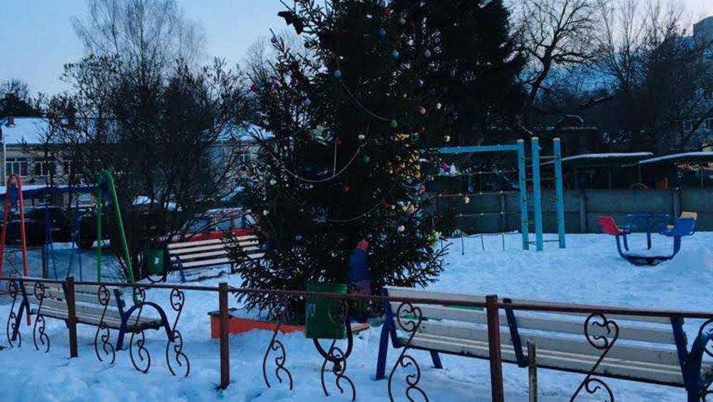 В Брянске объявили конкурс на лучшее новогоднее украшение дворов