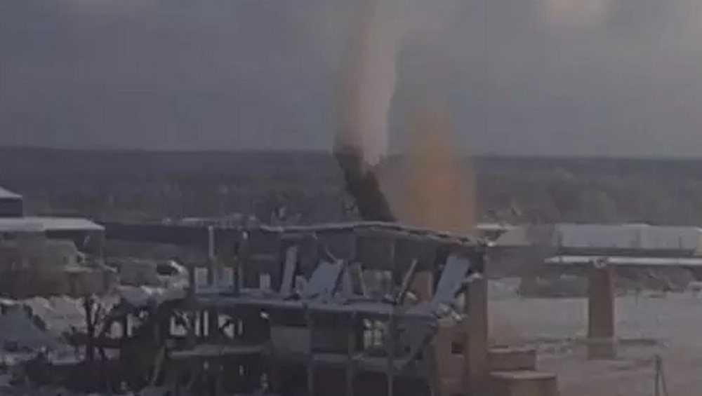 В Брянске взорвали остатки цехов бывшего завода «Литий»