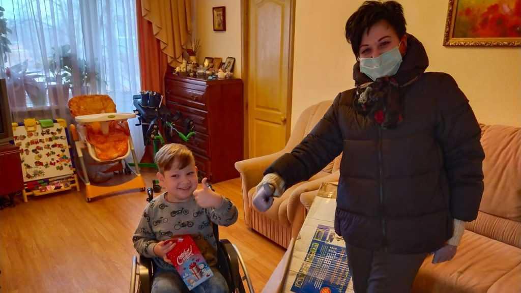 Валентина Миронова исполнила мечту ребенка из Клинцов