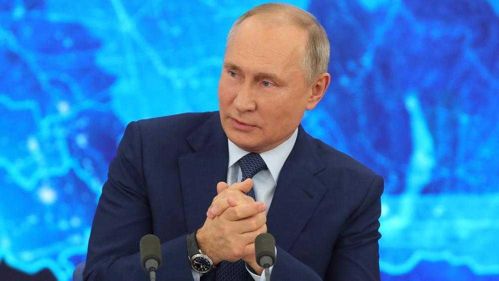 Президент Путин поздравил с Новым годом брянского губернатора Богомаза