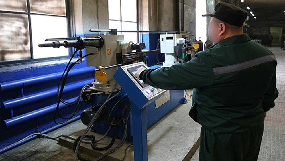На станки для брянских зэков потратили более 20 миллионов рублей
