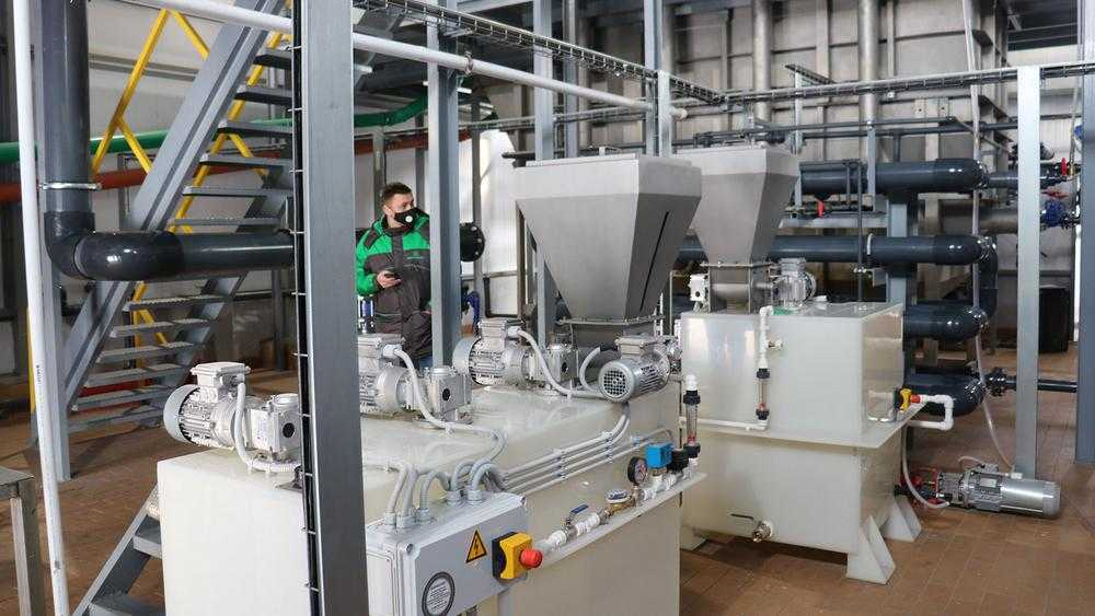 В Стародубе завод «Консервсушпрод» открыл станцию очистки стоков