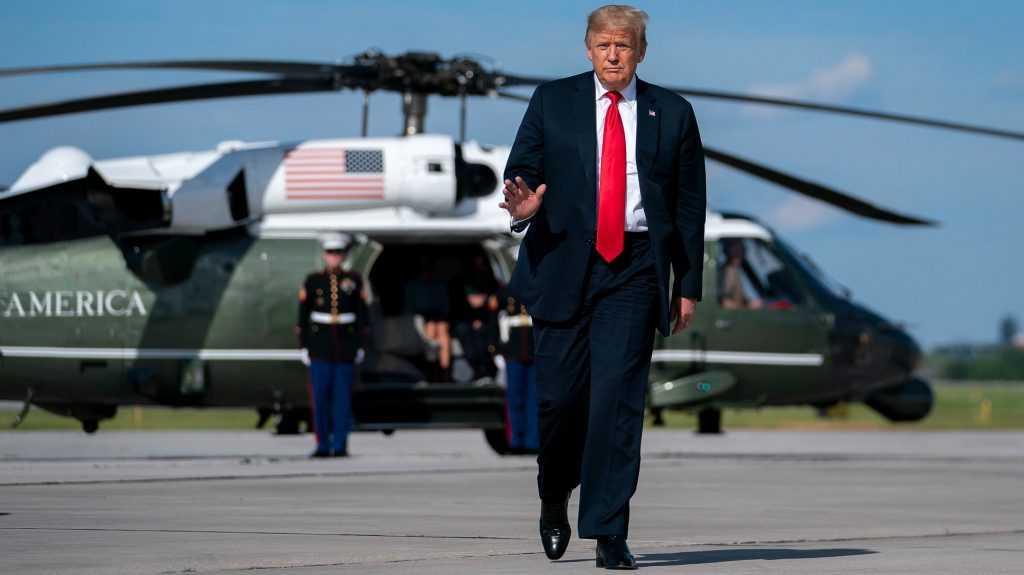 «Я не начал новых войн»: Трамп подвел итоги своего президентства