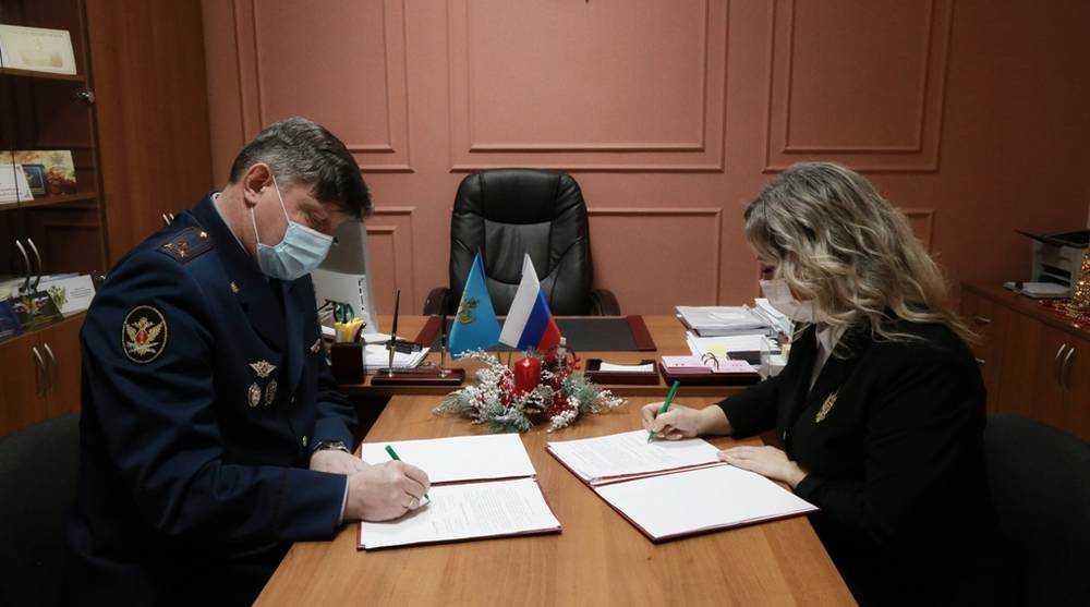 Начальник УФСИН встретился с брянским уполномоченным по правам ребенка