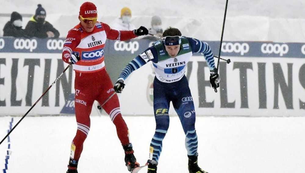 Брянский лыжник Большунов призвал наказать финна
