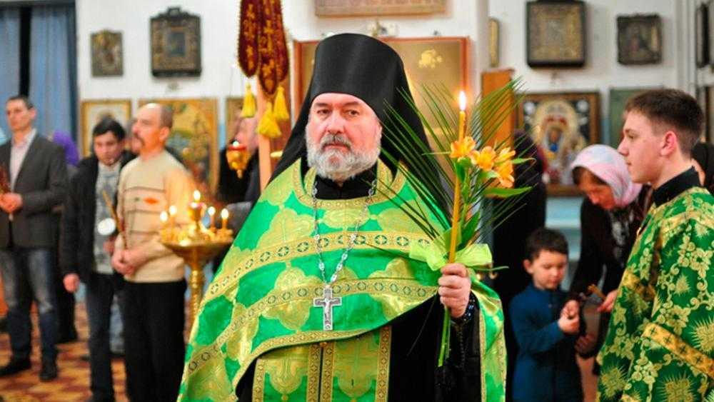 От осложнения болезни скончался клирик Клинцовской епархии