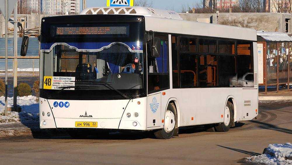 В Брянске с мая на маршруте № 48 увеличат количество автобусов