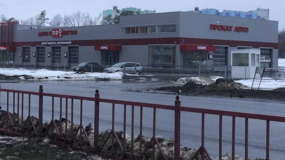В Советском районе Брянска построили крупный автомобильный центр