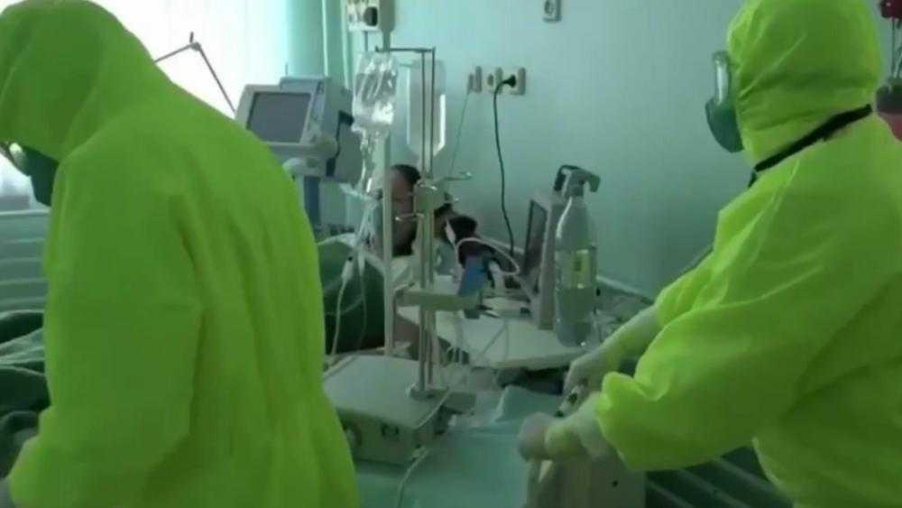 Совету Федерации показали ролик о борьбе с коронавирусом в Брянской области