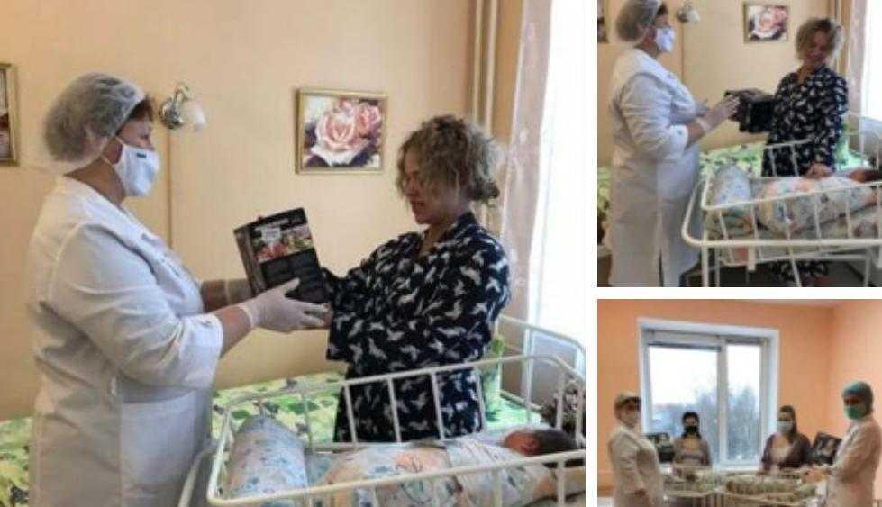 В Брянске поздравили женщин, ставших мамами 1 января 2021 года