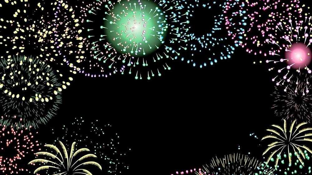 Новогоднее небо над Брянском озарили многочисленные фейерверки