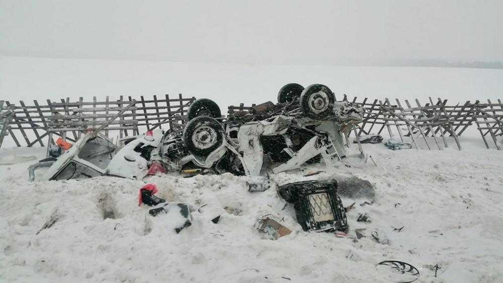 На трассе М-3 погибли две молодых пациентки скорой помощи