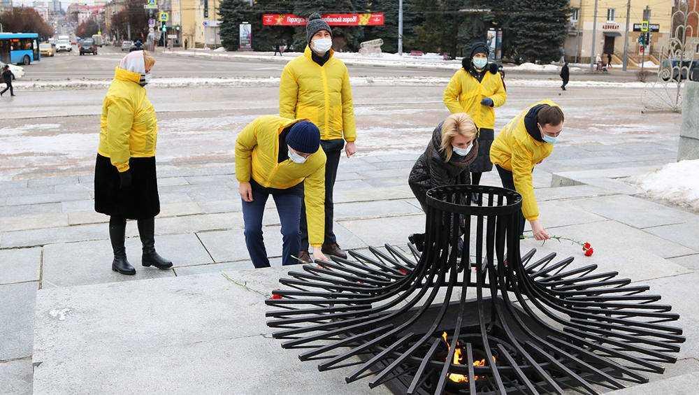 В Брянске отдали дань памяти блокадному Ленинграду