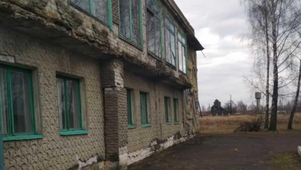 В Климовском районе отремонтируют аварийный Могилевецкий ДК