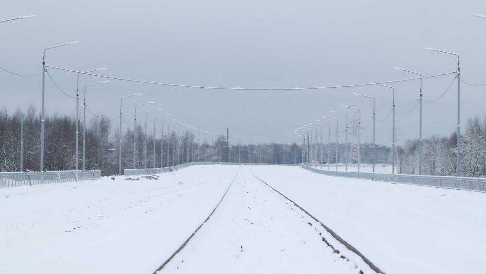 Праздники не остановили стройку дороги от вокзала Брянск-I до Metro