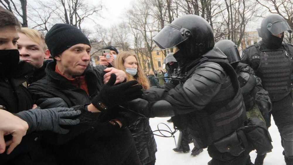 В Брянске участнику несогласованного митинга грозит уголовное дело