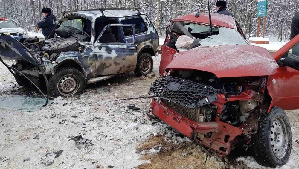 Под Карачевом погибла 53-летняя водительница Datsun