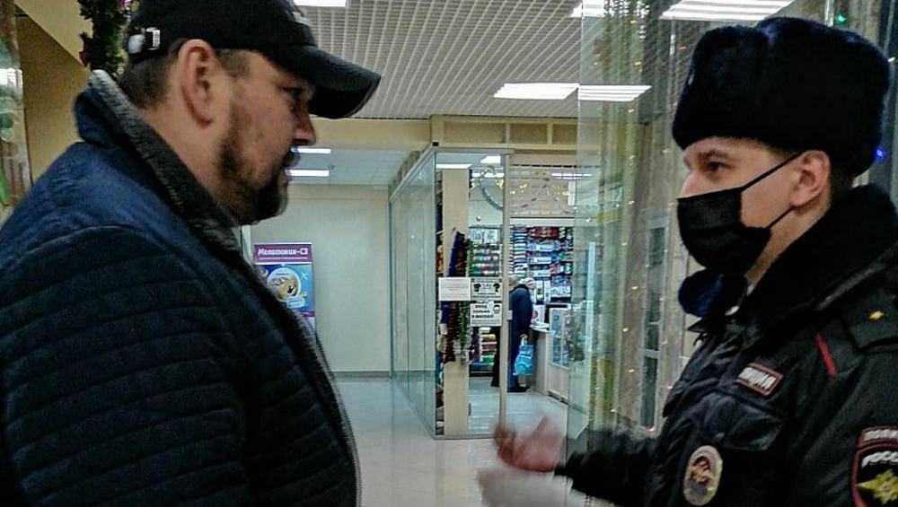 В Брянске выявили лишь двоих нарушителей масочного режима