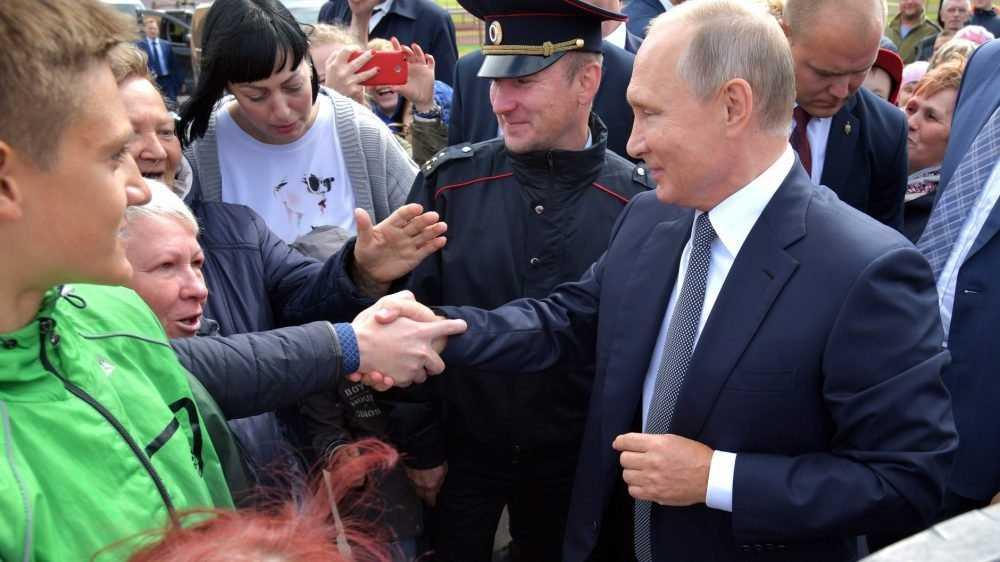 «Все в интересах России и для россиян»: Песков рассказал об идеологии Путина