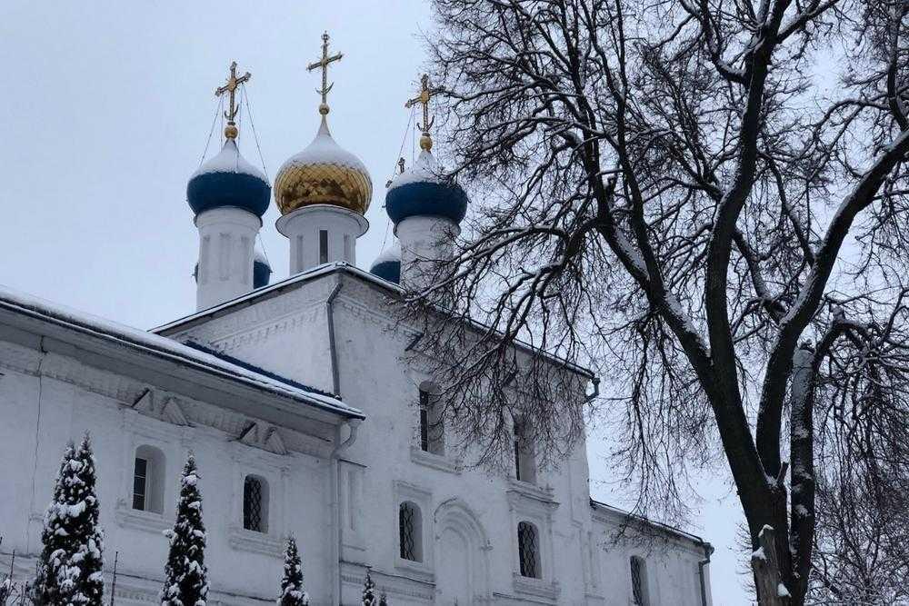 Древний зимний Брянск