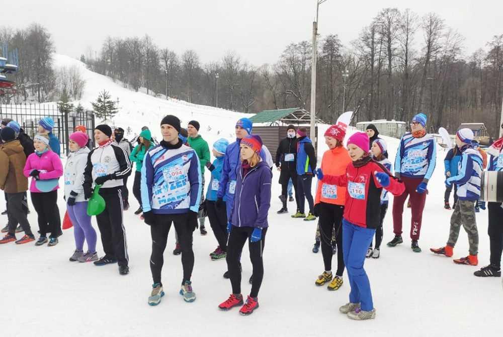 Сотрудник УФСИН России по Брянской области Елена Чудакова стала победительницей женского этапа зимнего трейл-забега Frozenman