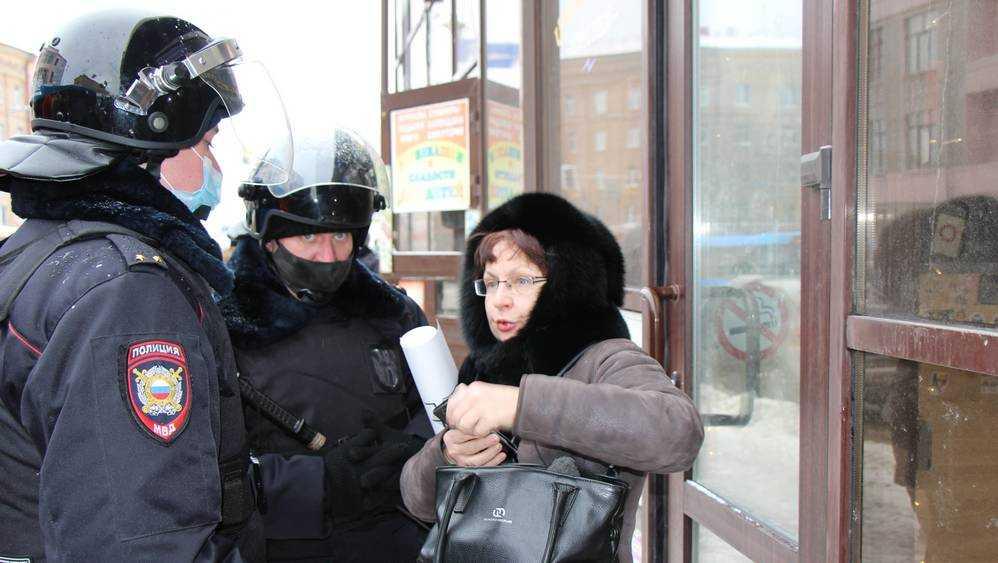 В Брянске случился громкий скандал на акции сторонников Навального